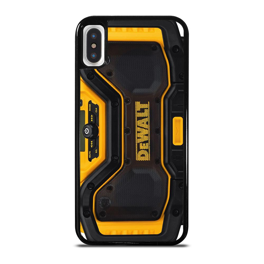 DEWALT BLUETOOTH RADIO cover iPhone X / XS,cover iphone x donna cover iphone x apple pelle,DEWALT BLUETOOTH RADIO cover iPhone X / XS
