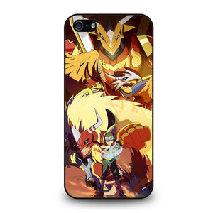 DIGIMON FRONTIER AGUNIMON Cover iPhone 5 / 5S / SE