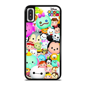 DISNEY TSUM TSUM 2 cover iPhone X / XS,cover iphone x tessuto cover iphone x belle,DISNEY TSUM TSUM 2 cover iPhone X / XS