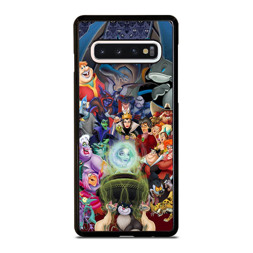coque custodia cover fundas hoesjes j3 J5 J6 s20 s10 s9 s8 s7 s6 s5 plus edge D21584 DISNEY PRINCESS VILLAINS #1 Samsung Galaxy S10 Case
