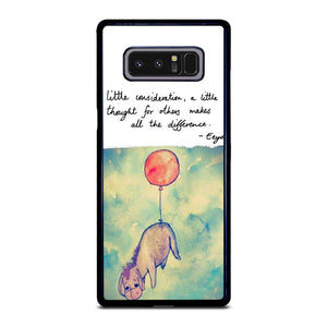 coque custodia cover fundas hoesjes j3 J5 J6 s20 s10 s9 s8 s7 s6 s5 plus edge D21838 DISNEY WINNIE THE POOH EEYORE SUNSHINE Samsung Galaxy Note 8 Case