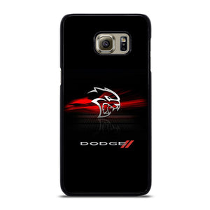 coque custodia cover fundas hoesjes j3 J5 J6 s20 s10 s9 s8 s7 s6 s5 plus edge D21959 DODGE CAR DEMON LOGO #1 Samsung Galaxy S6 Edge Plus Case