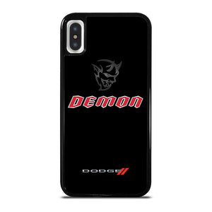 DODGE DEMON LOGO cover iPhone X / XS,cover iphone x design cover iphone x star wars,DODGE DEMON LOGO cover iPhone X / XS