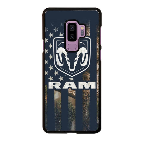 coque custodia cover fundas hoesjes j3 J5 J6 s20 s10 s9 s8 s7 s6 s5 plus edge D22068 DODGE RAM CAMO FLAG Samsung Galaxy S9 Plus Case