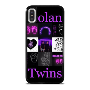 DOLAN TWINS LOGO cover iPhone X / XS,amazon cover iphone x pelle cover iphone x zalando,DOLAN TWINS LOGO cover iPhone X / XS