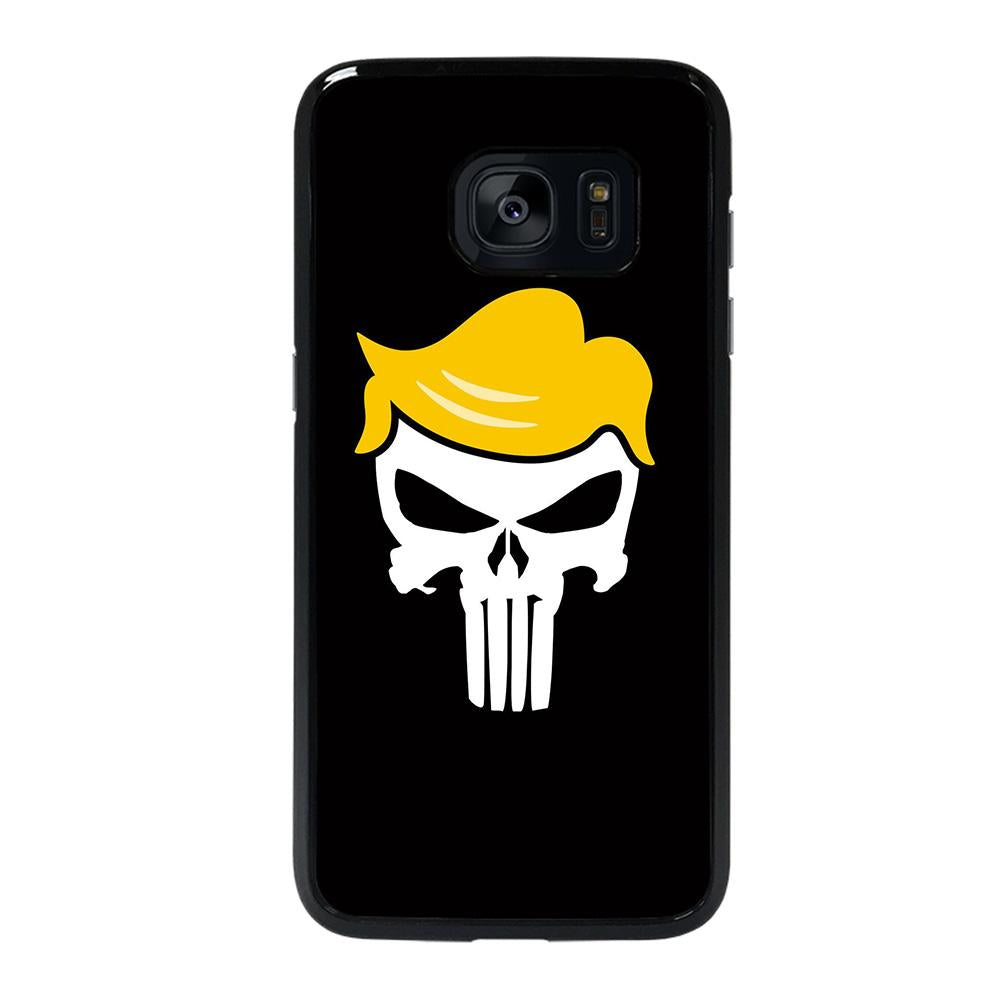 coque custodia cover fundas hoesjes j3 J5 J6 s20 s10 s9 s8 s7 s6 s5 plus edge D22266 DONALD TRUMP PUNISHER Samsung Galaxy s7 edge Case