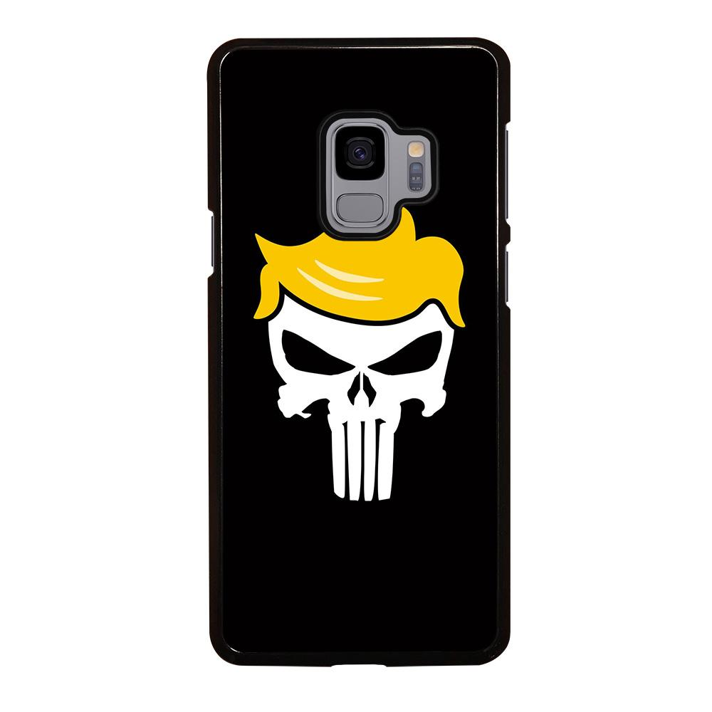coque custodia cover fundas hoesjes j3 J5 J6 s20 s10 s9 s8 s7 s6 s5 plus edge D22269 DONALD TRUMP PUNISHER Samsung Galaxy S9 Case