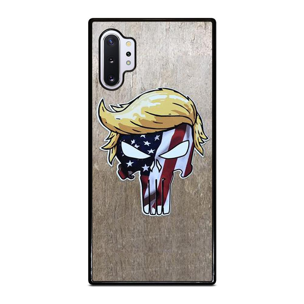 coque custodia cover fundas hoesjes j3 J5 J6 s20 s10 s9 s8 s7 s6 s5 plus edge D22244 DONALD TRUMP PUNISHER 1 Samsung Galaxy Note 10 Plus Case