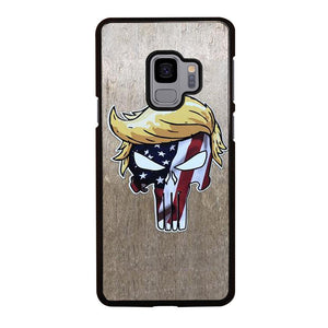 coque custodia cover fundas hoesjes j3 J5 J6 s20 s10 s9 s8 s7 s6 s5 plus edge D22255 DONALD TRUMP PUNISHER 1 Samsung Galaxy S9 Case