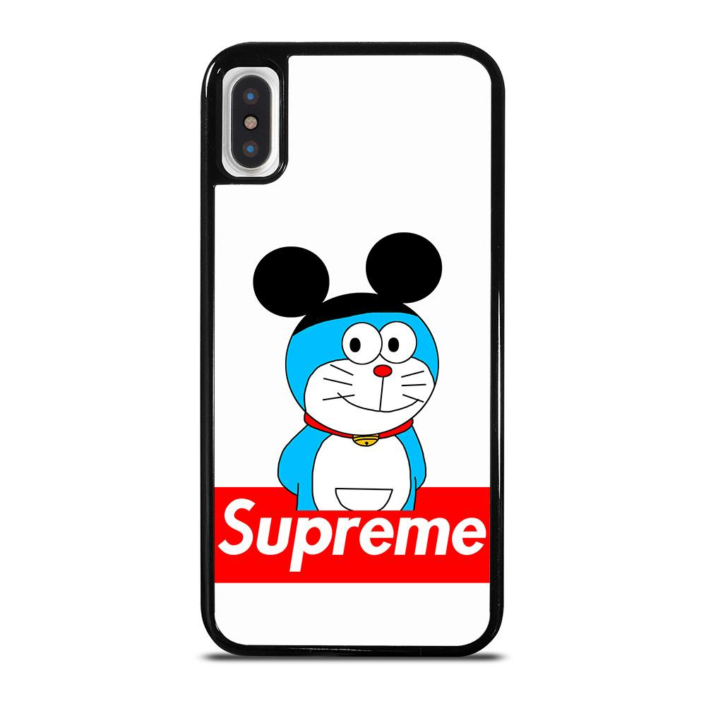 DORAEMON WITH MICKEY SUPREME cover iPhone X / XS,ipaky cover iphone x cover iphone x in silicone,DORAEMON WITH MICKEY SUPREME cover iPhone X / XS