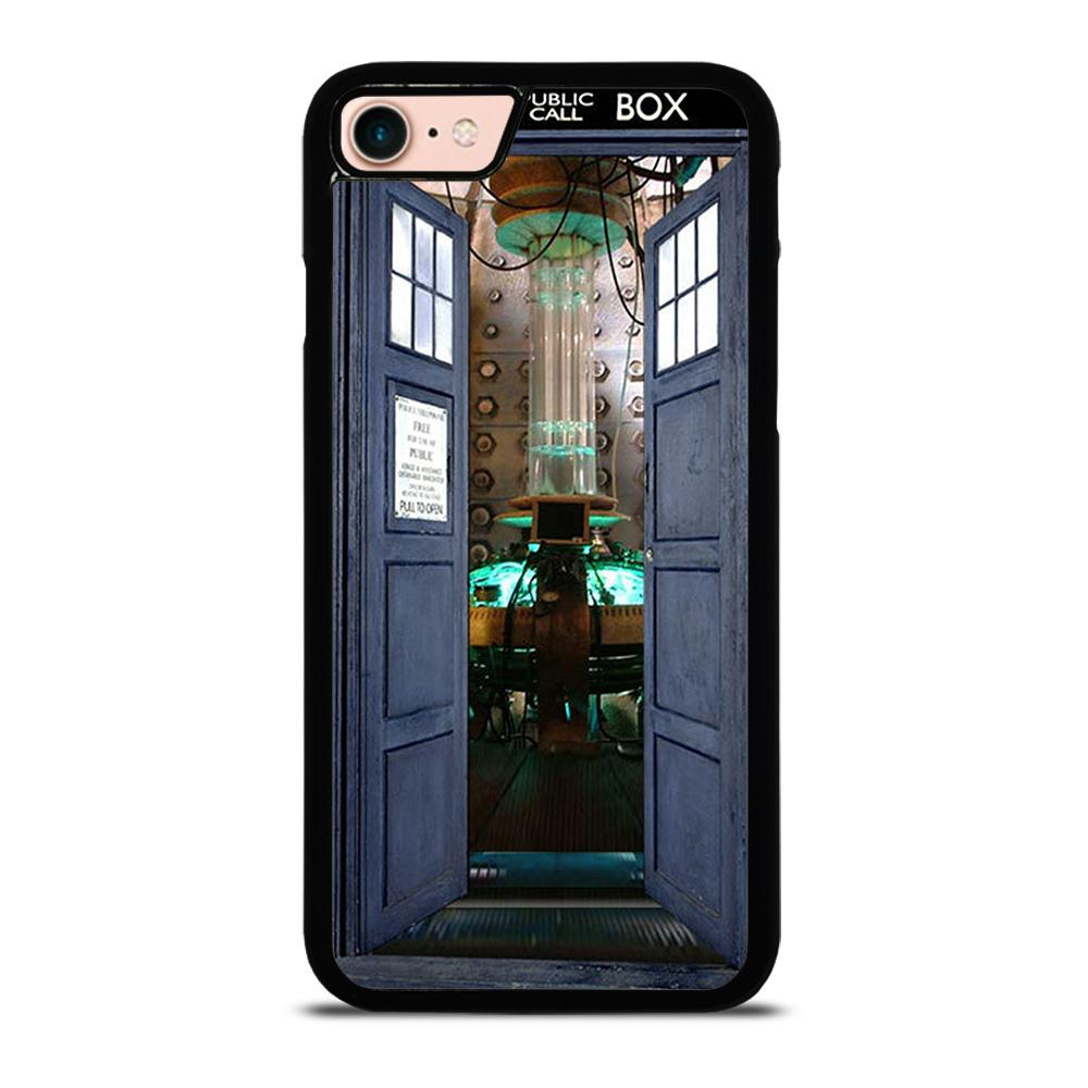 DR. WHO TARDIS OPEN THE DOOR Cover iPhone 8