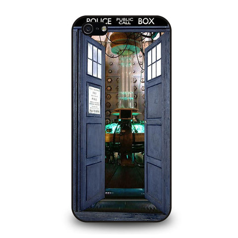 DR. WHO TARDIS OPEN THE DOOR Cover iPhone 5 / 5S / SE