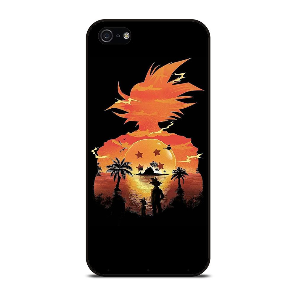 DRAGON BALL GOKU SILHOUETTE Cover iPhone 5 / 5S / SE