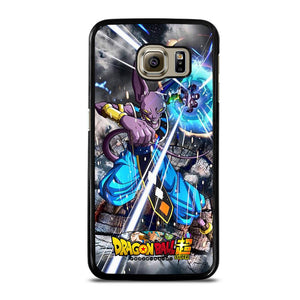 coque custodia cover fundas hoesjes j3 J5 J6 s20 s10 s9 s8 s7 s6 s5 plus edge D22453 DRAGON BALL SUPER BEERUS 3 Samsung Galaxy S6 Case