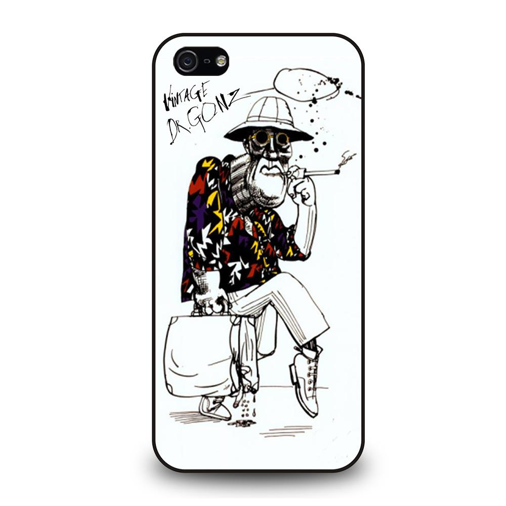 DR GONZO RALPH STEADMAN LAS VEGAS Cover iPhone 5 / 5S / SE