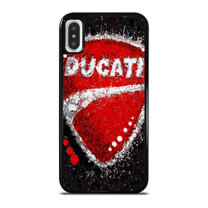DUCATI LOGO ART cover iPhone X / XS,cover iphone x r cover iphone x colorate,DUCATI LOGO ART cover iPhone X / XS