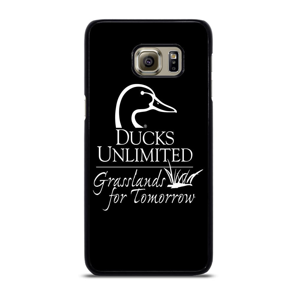 coque custodia cover fundas hoesjes j3 J5 J6 s20 s10 s9 s8 s7 s6 s5 plus edge D22841 DUCKS UNLIMITED WETLANDS WATERFOWL #1 Samsung Galaxy S6 Edge Plus Case