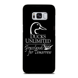 coque custodia cover fundas hoesjes j3 J5 J6 s20 s10 s9 s8 s7 s6 s5 plus edge D22844 DUCKS UNLIMITED WETLANDS WATERFOWL #1 Samsung Galaxy S8 Case
