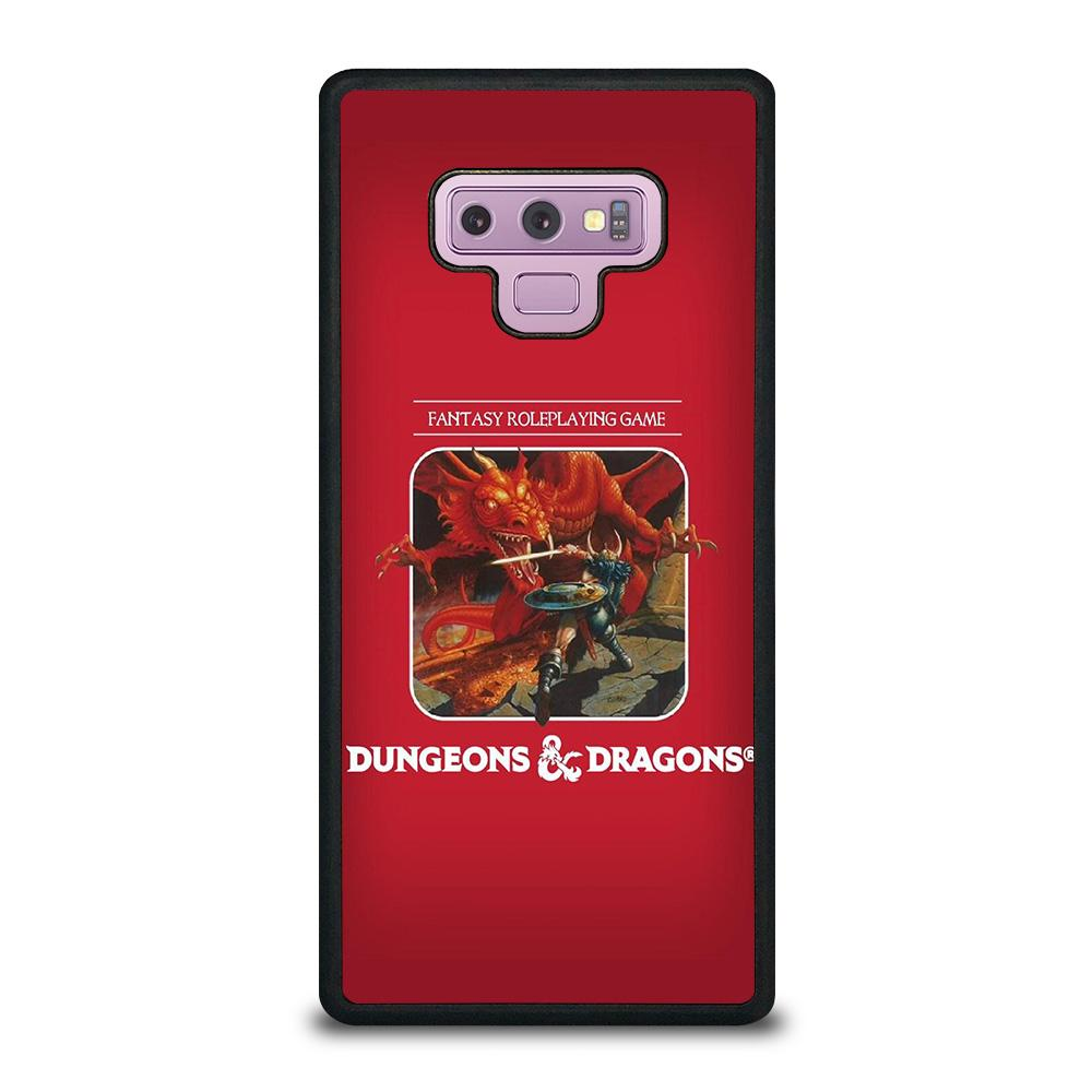 coque custodia cover fundas hoesjes j3 J5 J6 s20 s10 s9 s8 s7 s6 s5 plus edge D22862 DUNGEONS AND DRAGONS #1 Samsung Galaxy Note 9 Case