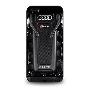 ENGINE AUDI RS4 SPORTS Cover iPhone 5 / 5S / SE