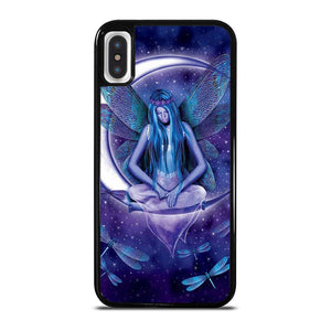 FAIRY DRAGONFLIES ON THE MOON cover iPhone X / XS,kenzo cover iphone x cover iphone x s,FAIRY DRAGONFLIES ON THE MOON cover iPhone X / XS