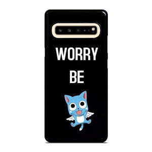 coque custodia cover fundas hoesjes j3 J5 J6 s20 s10 s9 s8 s7 s6 s5 plus edge D23394 FAIRY TAIL DONT WORRY BE Samsung Galaxy S10 5G Case