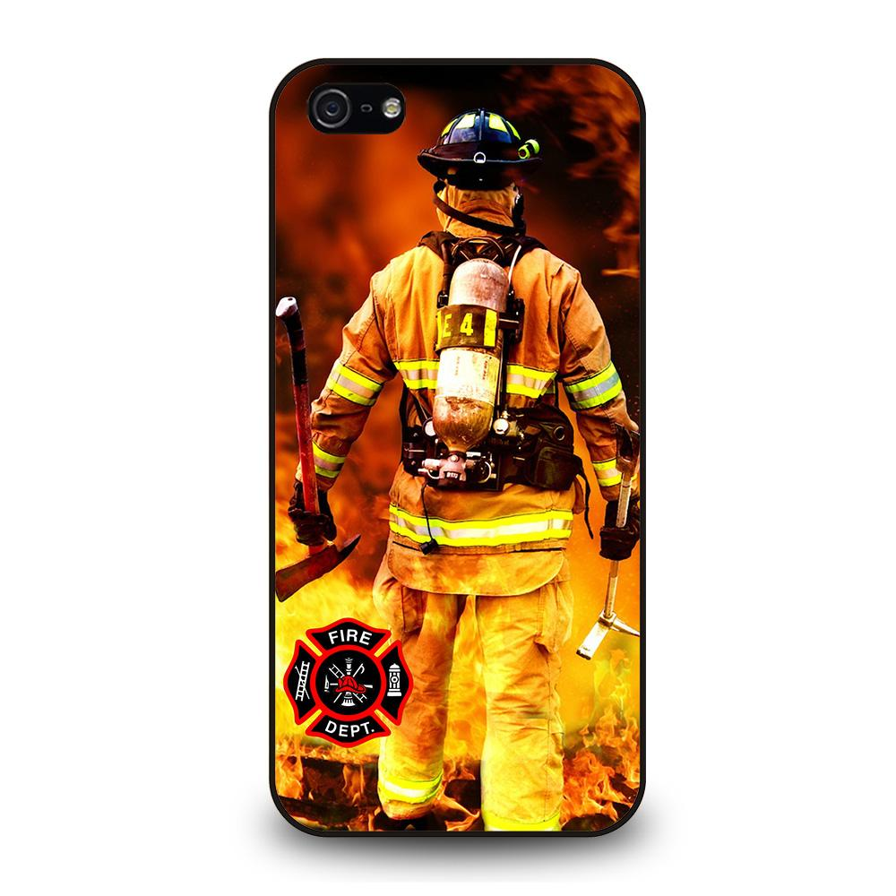 FIREFIGHTER FIREMAN DEPARTMENT Cover iPhone 5 / 5S / SE