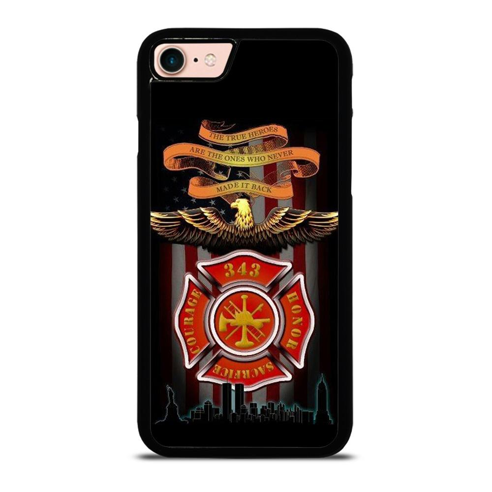 FIREFIGHTER QUOTES FIRE DEPT Cover iPhone 8