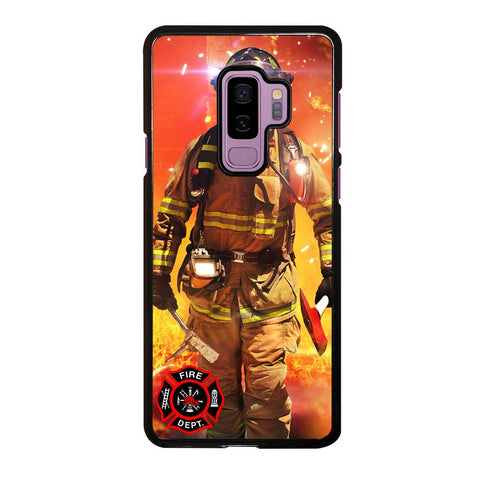coque custodia cover fundas hoesjes j3 J5 J6 s20 s10 s9 s8 s7 s6 s5 plus edge D24017 FIREFIGHTER FIREMAN #1 Samsung Galaxy S9 Plus Case
