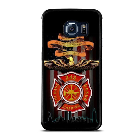 coque custodia cover fundas hoesjes j3 J5 J6 s20 s10 s9 s8 s7 s6 s5 plus edge D24028 FIREFIGHTER QUOTES FIRE DEPT Samsung Galaxy S6 Edge Case