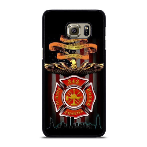 coque custodia cover fundas hoesjes j3 J5 J6 s20 s10 s9 s8 s7 s6 s5 plus edge D24029 FIREFIGHTER QUOTES FIRE DEPT Samsung Galaxy S6 Edge Plus Case