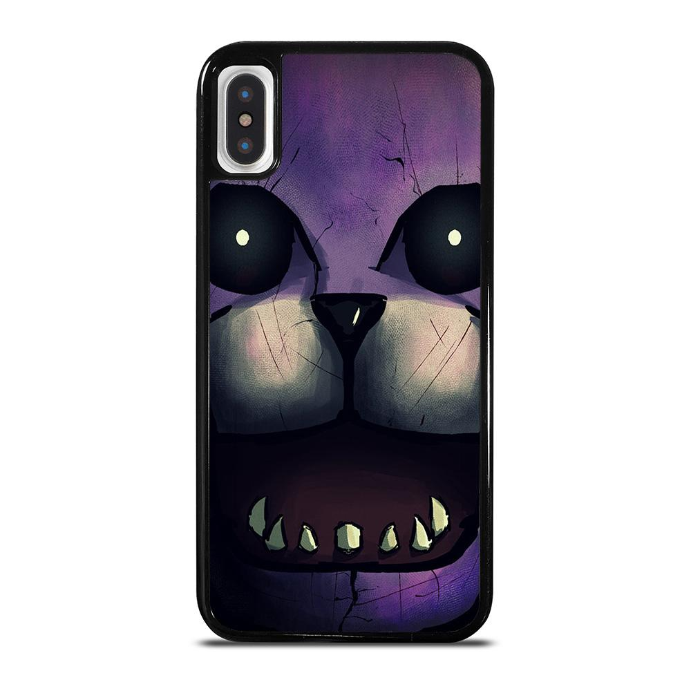FIVE NIGHTS FREDDY'S BONNIE THE BUNNY cover iPhone X / XS,cellular line cover iphone x cover iphone x in silicone,FIVE NIGHTS FREDDY'S BONNIE THE BUNNY cover iPhone X / XS