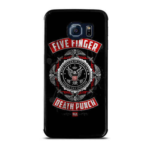 coque custodia cover fundas hoesjes j3 J5 J6 s20 s10 s9 s8 s7 s6 s5 plus edge D24114 FIVE FINGER DEATH PUNCH Samsung Galaxy S6 Edge Case