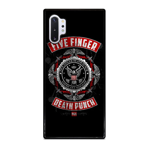 coque custodia cover fundas hoesjes j3 J5 J6 s20 s10 s9 s8 s7 s6 s5 plus edge D24105 FIVE FINGER DEATH PUNCH Samsung Galaxy Note 10 Plus Case