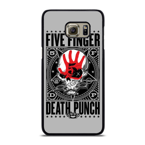 coque custodia cover fundas hoesjes j3 J5 J6 s20 s10 s9 s8 s7 s6 s5 plus edge D24079 FIVE FINGER DEATH PUNCH #2 Samsung Galaxy S6 Edge Plus Case