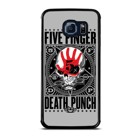coque custodia cover fundas hoesjes j3 J5 J6 s20 s10 s9 s8 s7 s6 s5 plus edge D24078 FIVE FINGER DEATH PUNCH #2 Samsung Galaxy S6 Edge Case