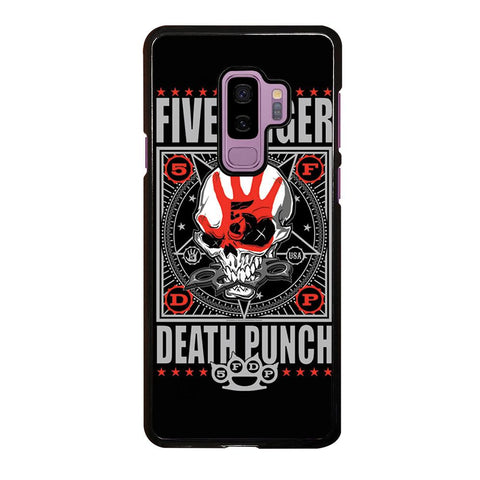 coque custodia cover fundas hoesjes j3 J5 J6 s20 s10 s9 s8 s7 s6 s5 plus edge D24103 FIVE FINGER DEATH PUNCH #3 Samsung Galaxy S9 Plus Case