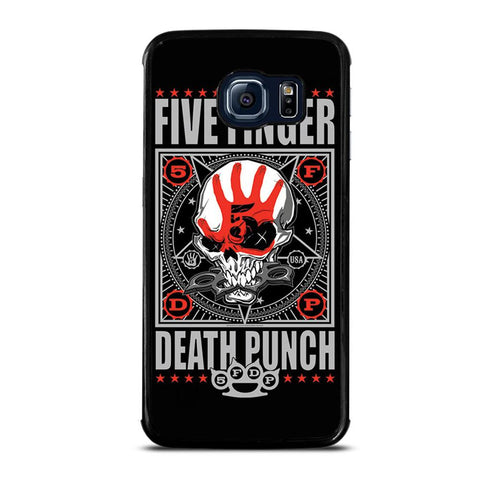 coque custodia cover fundas hoesjes j3 J5 J6 s20 s10 s9 s8 s7 s6 s5 plus edge D24096 FIVE FINGER DEATH PUNCH #3 Samsung Galaxy S6 Edge Case