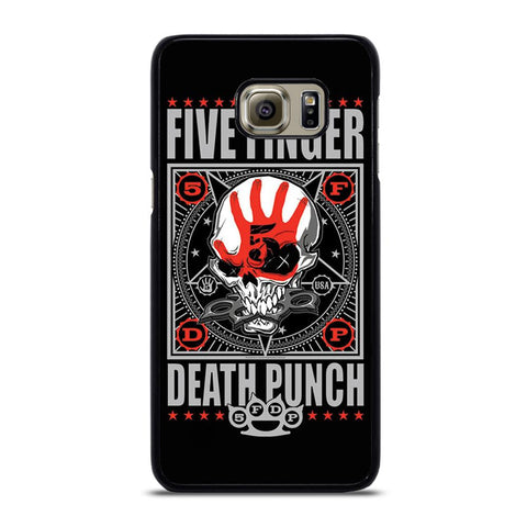coque custodia cover fundas hoesjes j3 J5 J6 s20 s10 s9 s8 s7 s6 s5 plus edge D24097 FIVE FINGER DEATH PUNCH #3 Samsung Galaxy S6 Edge Plus Case
