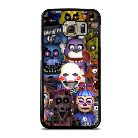 coque custodia cover fundas hoesjes j3 J5 J6 s20 s10 s9 s8 s7 s6 s5 plus edge D24131 FIVE NIGHTS AT FREDDY'S FNAF Samsung Galaxy S6 Case