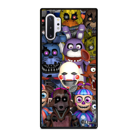 coque custodia cover fundas hoesjes j3 J5 J6 s20 s10 s9 s8 s7 s6 s5 plus edge D24123 FIVE NIGHTS AT FREDDY'S FNAF Samsung Galaxy Note 10 Plus Case