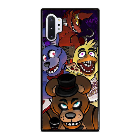 coque custodia cover fundas hoesjes j3 J5 J6 s20 s10 s9 s8 s7 s6 s5 plus edge D24141 FIVE NIGHTS AT FREDDY'S HOT #1 Samsung Galaxy Note 10 Plus Case