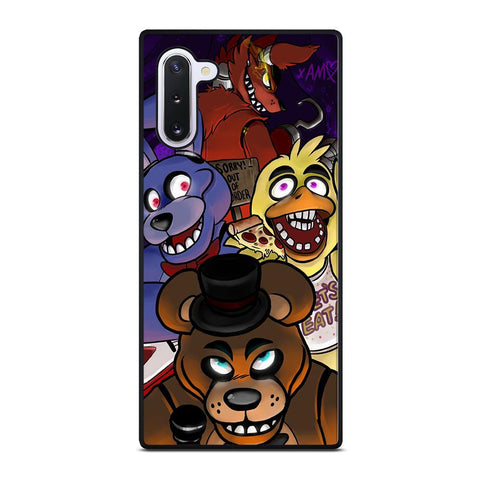 coque custodia cover fundas hoesjes j3 J5 J6 s20 s10 s9 s8 s7 s6 s5 plus edge D24140 FIVE NIGHTS AT FREDDY'S HOT #1 Samsung Galaxy Note 10 Case