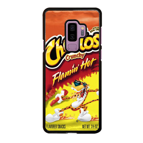coque custodia cover fundas hoesjes j3 J5 J6 s20 s10 s9 s8 s7 s6 s5 plus edge D24171 FLAMIN HOT CHEETOS Samsung Galaxy S9 Plus Case