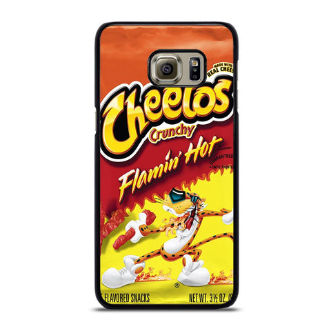 coque custodia cover fundas hoesjes j3 J5 J6 s20 s10 s9 s8 s7 s6 s5 plus edge D24165 FLAMIN HOT CHEETOS Samsung Galaxy S6 Edge Plus Case