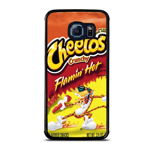 coque custodia cover fundas hoesjes j3 J5 J6 s20 s10 s9 s8 s7 s6 s5 plus edge D24164 FLAMIN HOT CHEETOS Samsung Galaxy S6 Edge Case