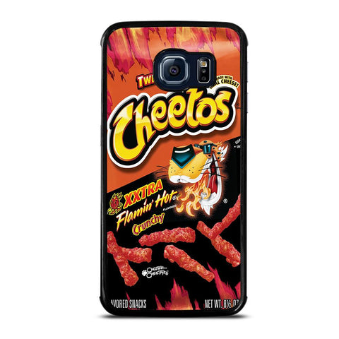 coque custodia cover fundas hoesjes j3 J5 J6 s20 s10 s9 s8 s7 s6 s5 plus edge D24182 FLAMIN HOT CHEETOS XXTRA Samsung Galaxy S6 Edge Case