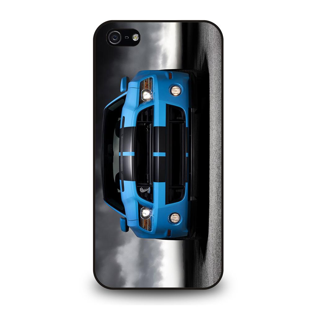 FORD MUSTANG BLUE Cover iPhone 5 / 5S / SE