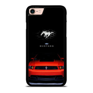 FORD MUSTANG CAR RED Cover iPhone 8