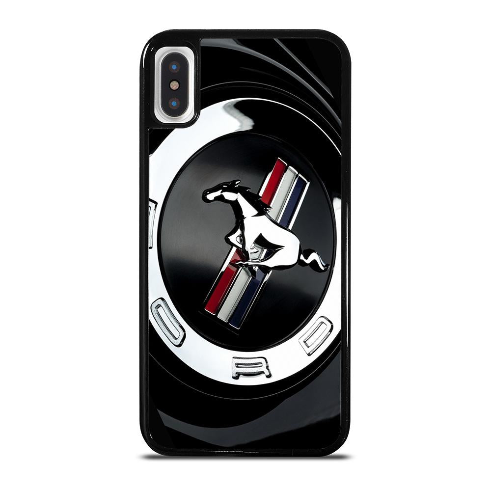 FORD MUSTANG EMBLEM cover iPhone X / XS,cover iphone x pelle apple cover iphone x calvin klein,FORD MUSTANG EMBLEM cover iPhone X / XS